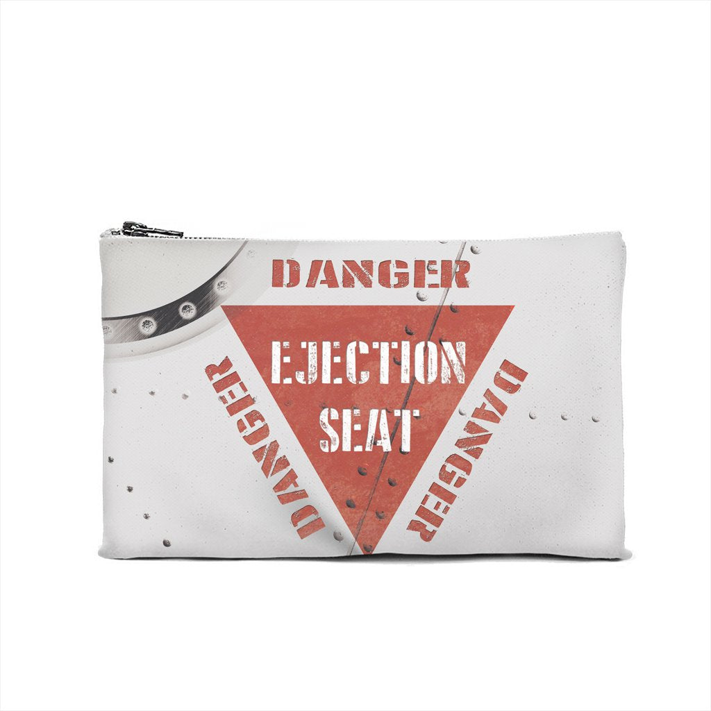 Danger Ejection Seat Cosmetic Pouch