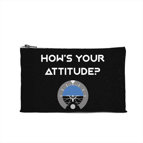How's Your Attitude Cosmetic Pouch