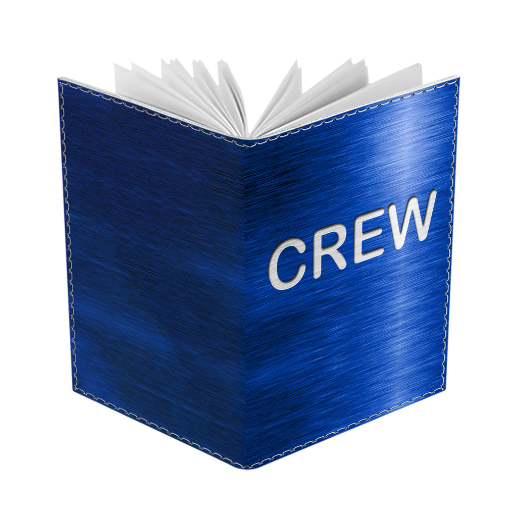Crew BLUE-Passport Cover