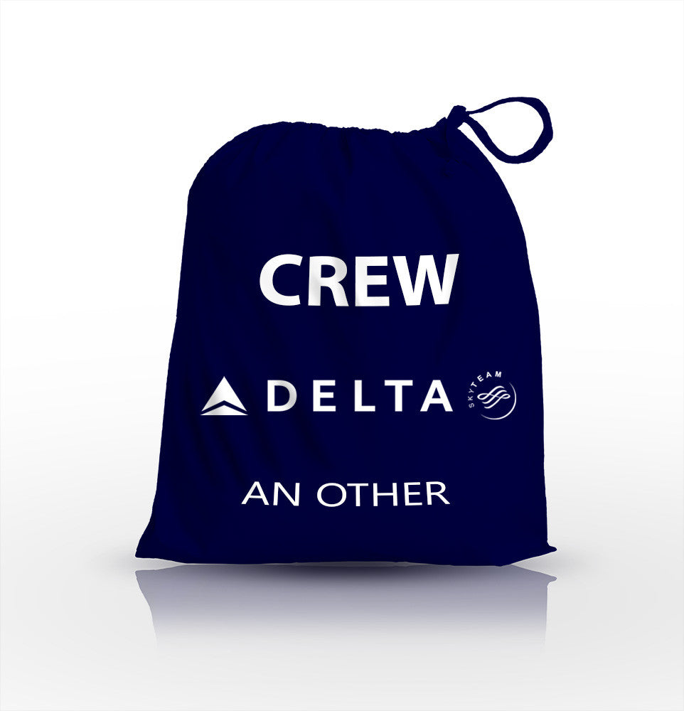 Delta Airlines Crew-Personalised Shoe Bag