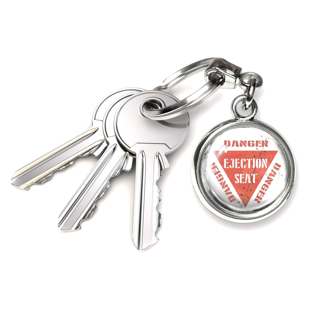 Ejection Seat Round Keyring