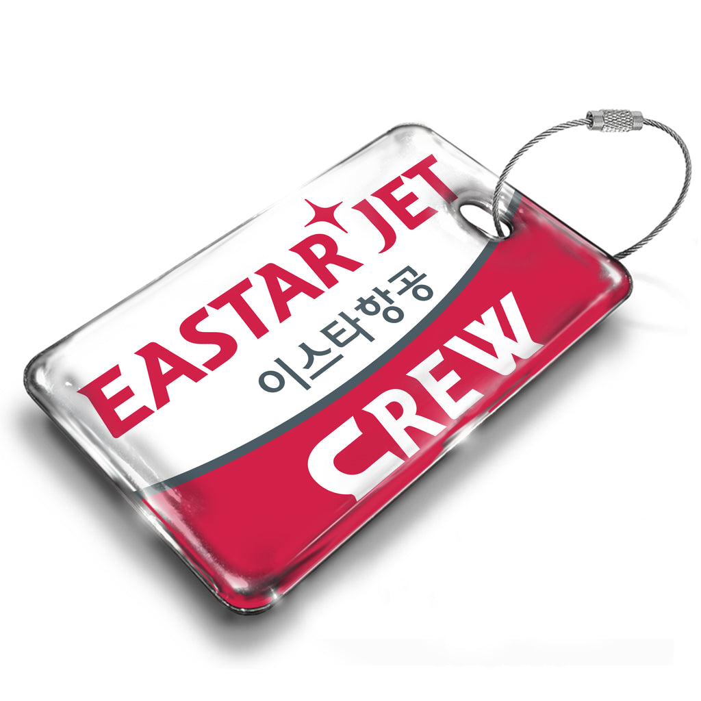 Easter Jet Logo Luggage Tag