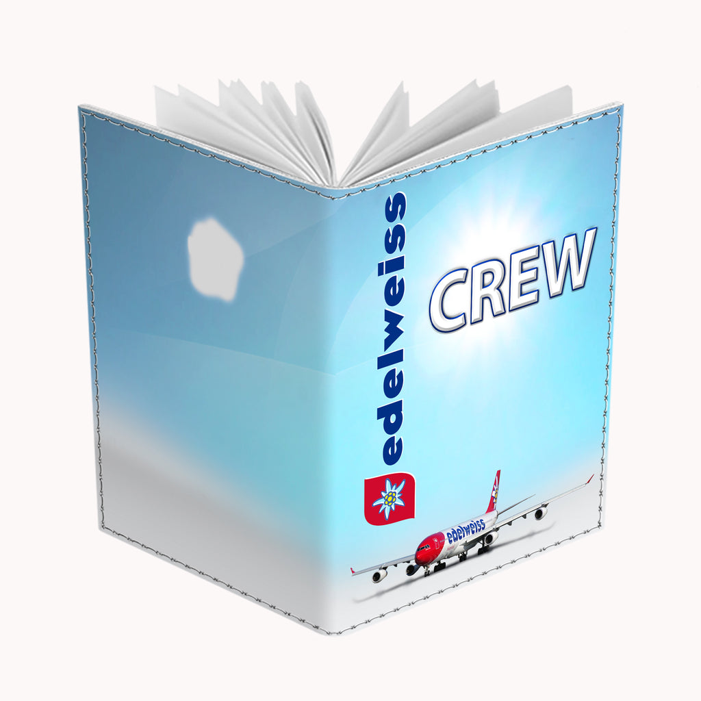 Edelweiss Air Airbus 340 CREW-Passport Cover