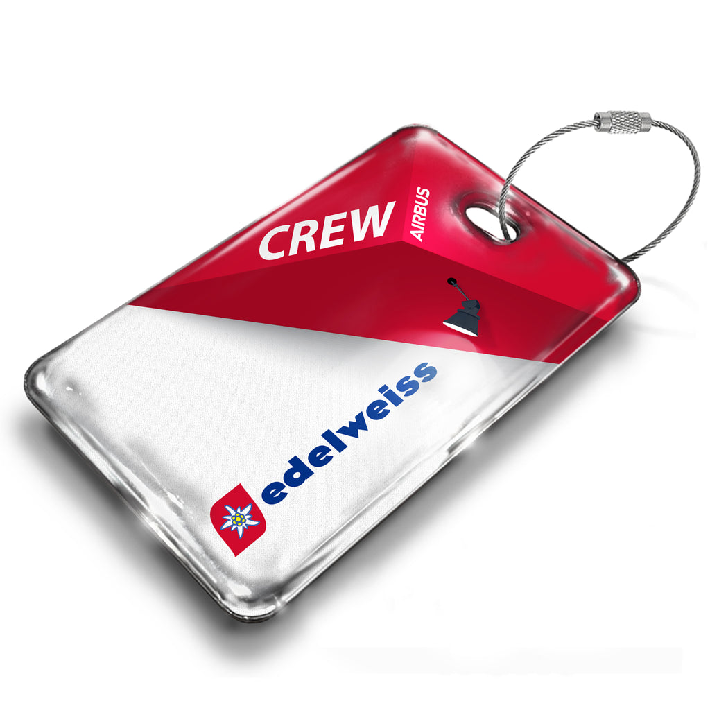Edelweiss Air Logo Abstract Luggage Tag