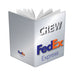 FedEx Express Portrait Silver