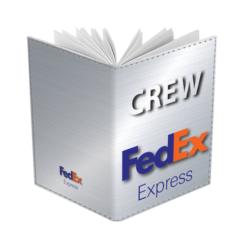 FedEx Express Portrait Silver CREW-Passport Cover