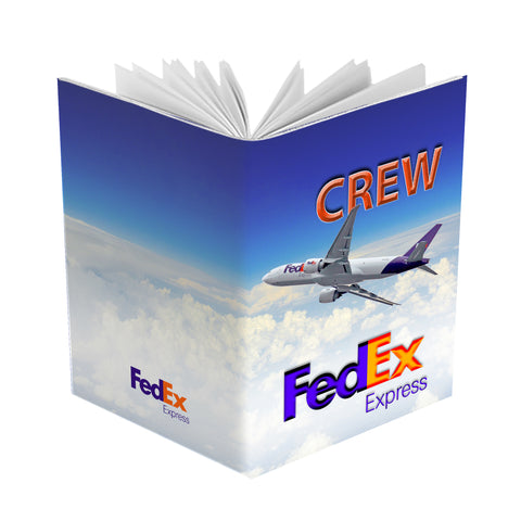 Fedex B777 Blueskies - Passport Cover