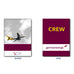 Germanwings CREW (NOSTALGIC)-Passport Cover