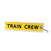 Eurostar Train Crew keychain