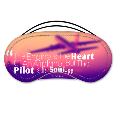 Pilot Passion Eye Mask