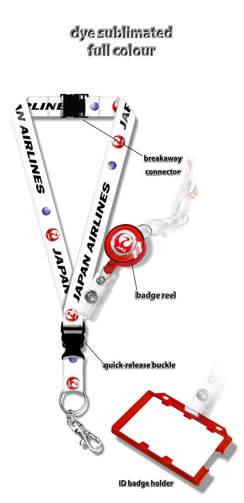 Japan Airlines Logo Lanyard