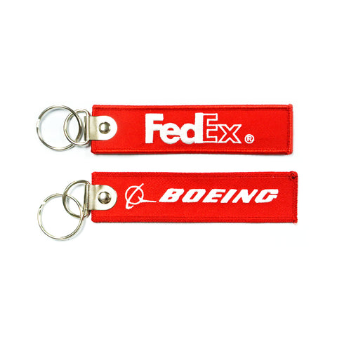 FEDEX Boeing  (Buckle) RED