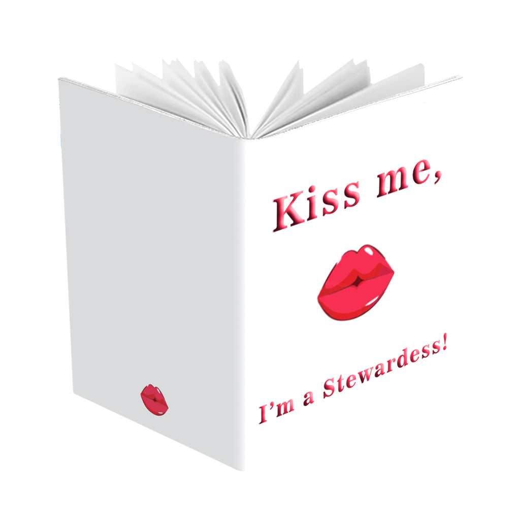 Kiss Me I'm A Stewardess! Passport Cover
