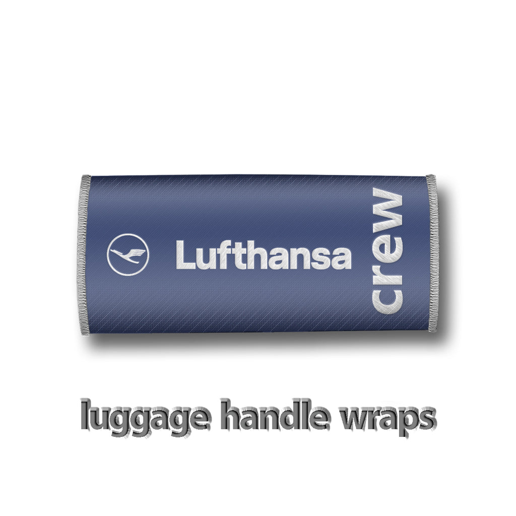 Lufthansa Crew Handle Wrap
