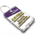 flyadeal Logo White Luggage Tag