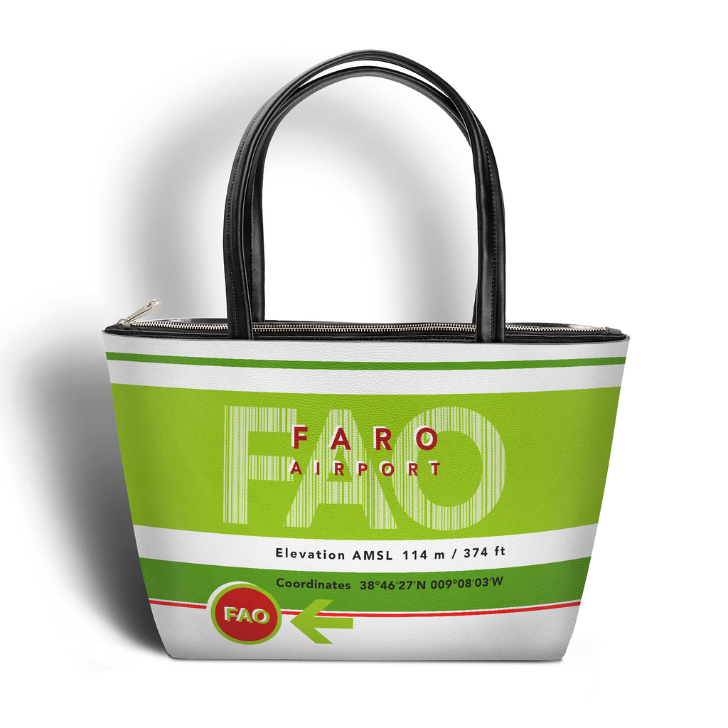 FAO Stripes Classic Handbag