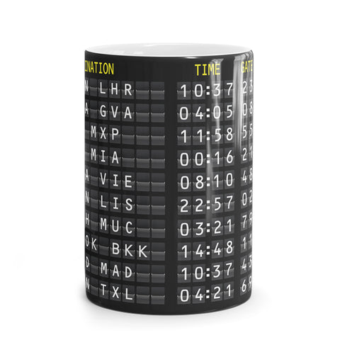 Cancelled Departures Mug