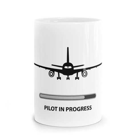 Pilot in Progress Mug