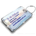 Plus Ultra A340-300 Landscape Luggage Tag