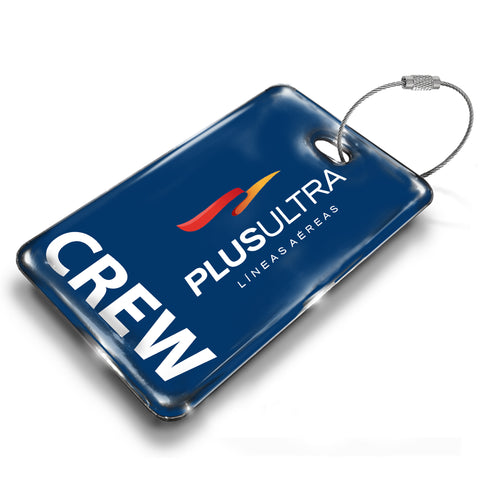 Plus Ultra Logo Luggage Tag