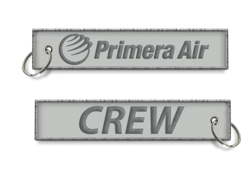 Primera CREW Embroidered Keyring