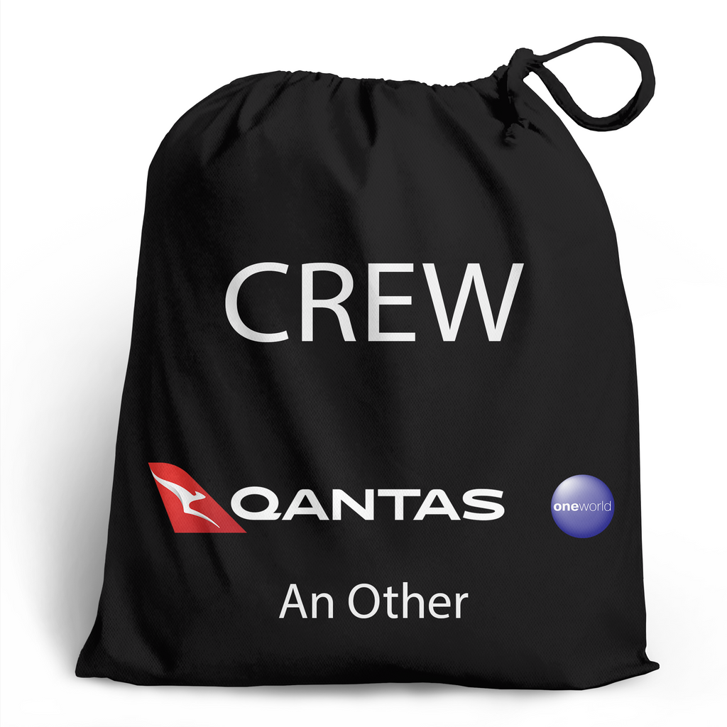 QANTAS Crew - Personalised Shoe Bag