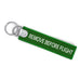 Remove Before Flight Keyring (BUCKLE)