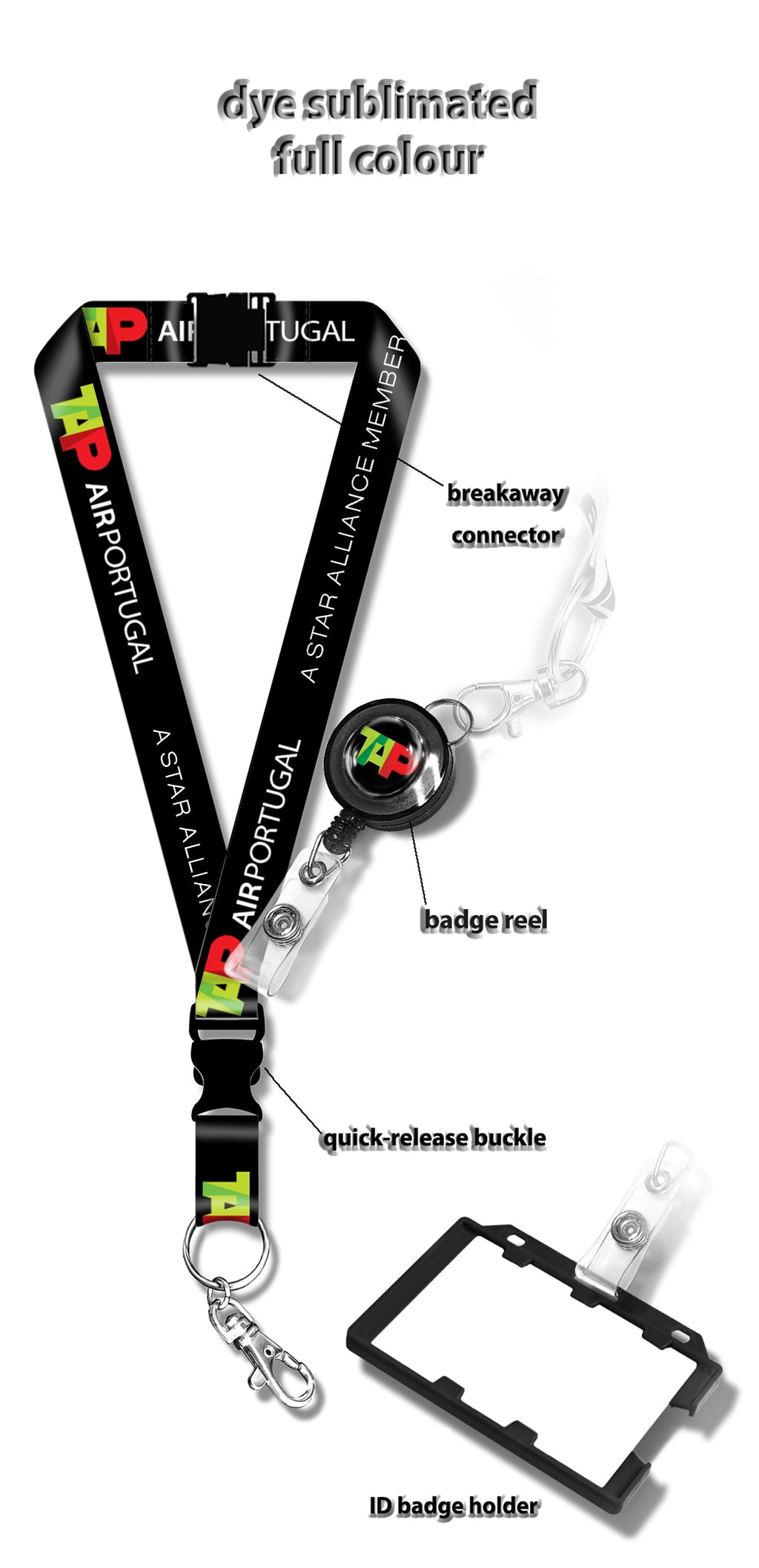 Tap Air Portugal Lanyard