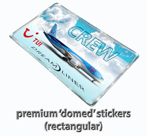 TUI Dreamliner Stickers