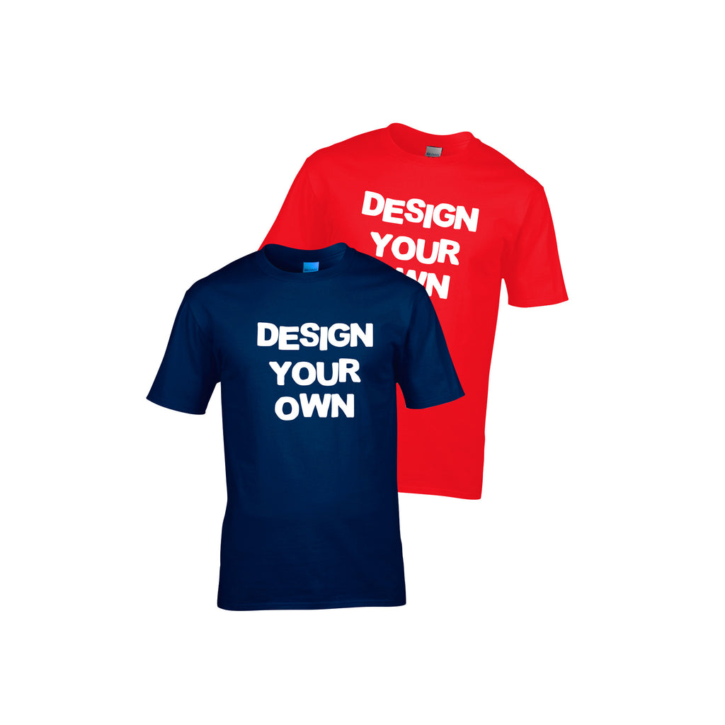 Design Your Own Men's T-Shirt
