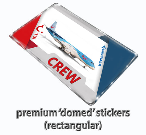 TUI Embraer 190 Stickers