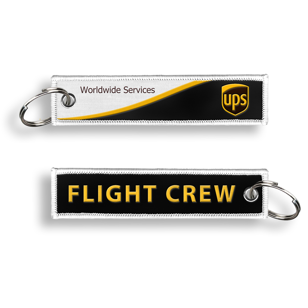UPS - Flight Crew Keychain