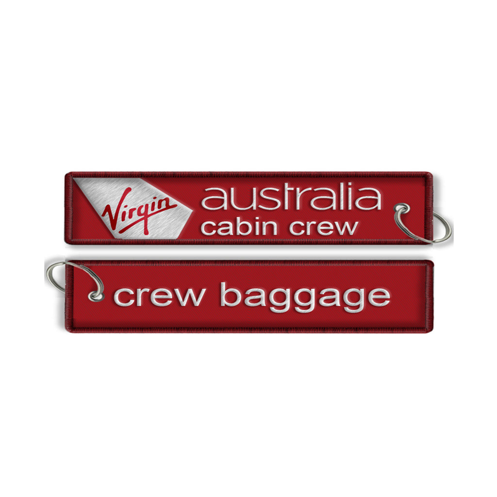 Virgin Australia Cabin Crew - Crew Baggage Tag(NO BUKLE)