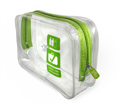 Koolkrew Airport Clear Washbag