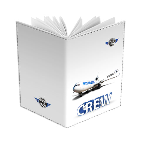 Western Global Airlines MD-11 White CREW -Passport Cover