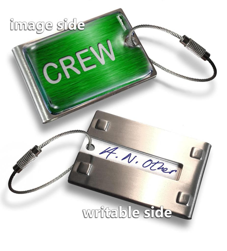 GREEN-CREW(Writable Reverse) Tag