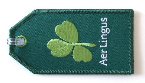 Aer Lingus Embroidered Tag
