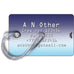 Aerolineas Argentinas B737 Blue Skies luggage tag