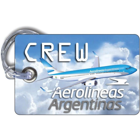 Aerolineas Argentinas Picture Luggage Tag