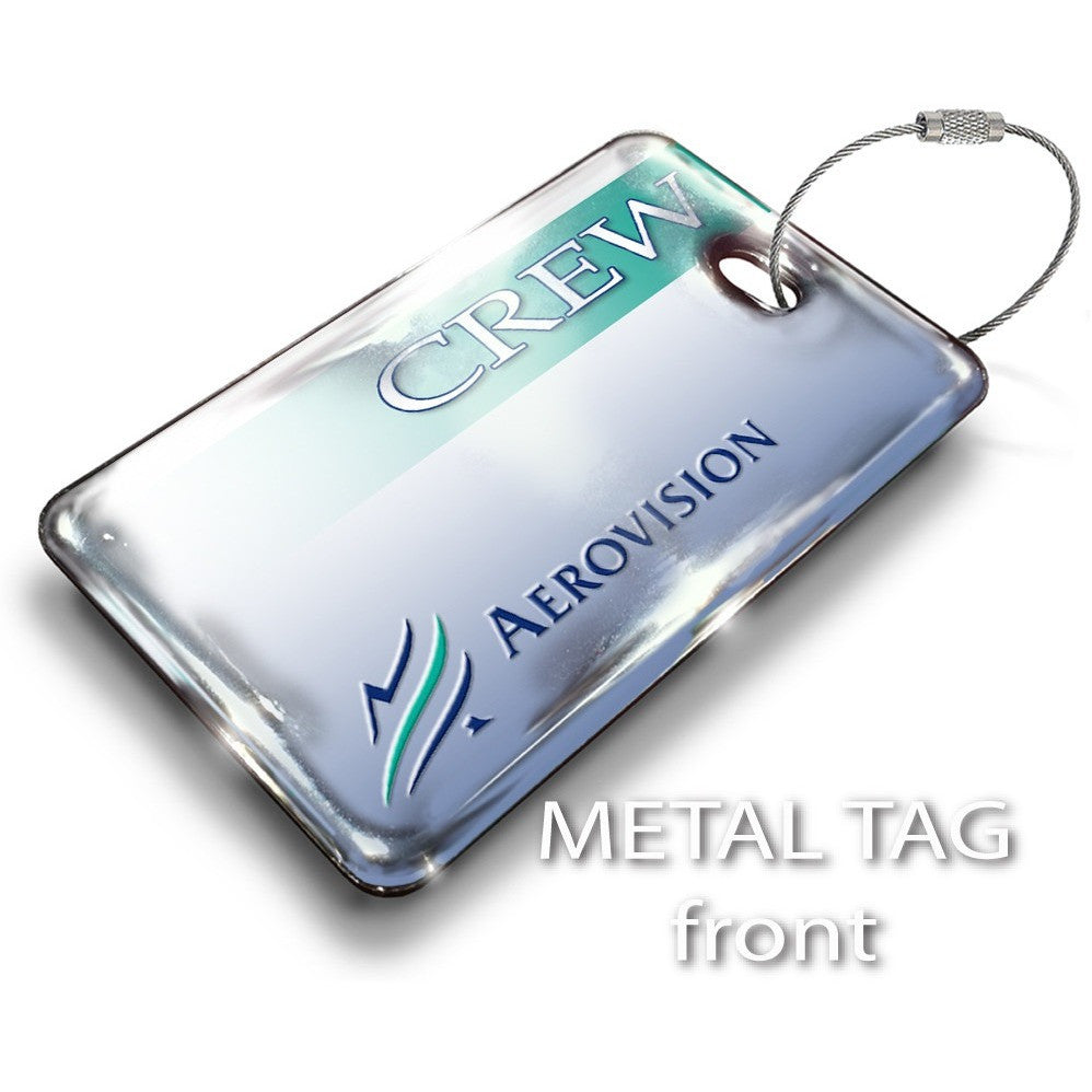 Aerovision Logo Luggage Tag