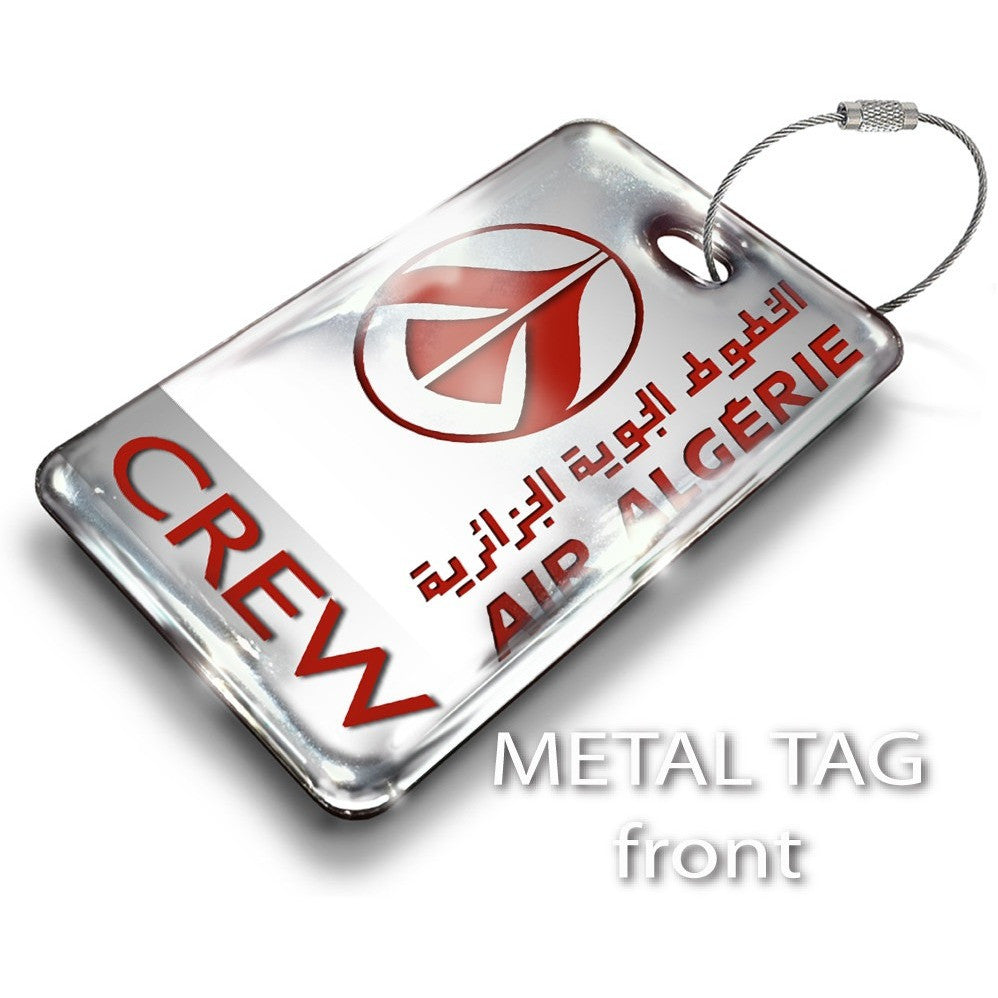 Air Algerie Logo Luggage Tag