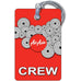 Air Asia Portrait RED 1 Luggage Tag