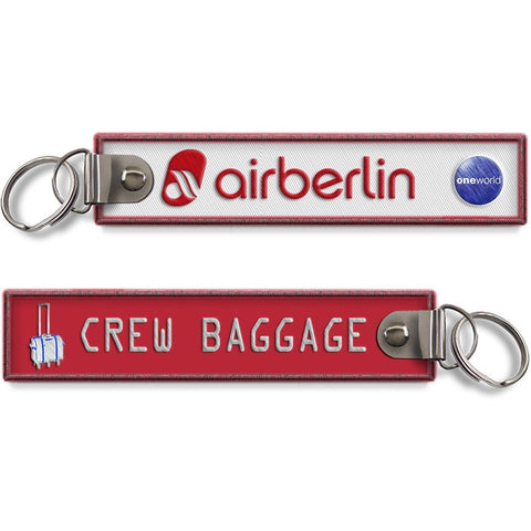 Air Berlin-Crew Baggage BagTag