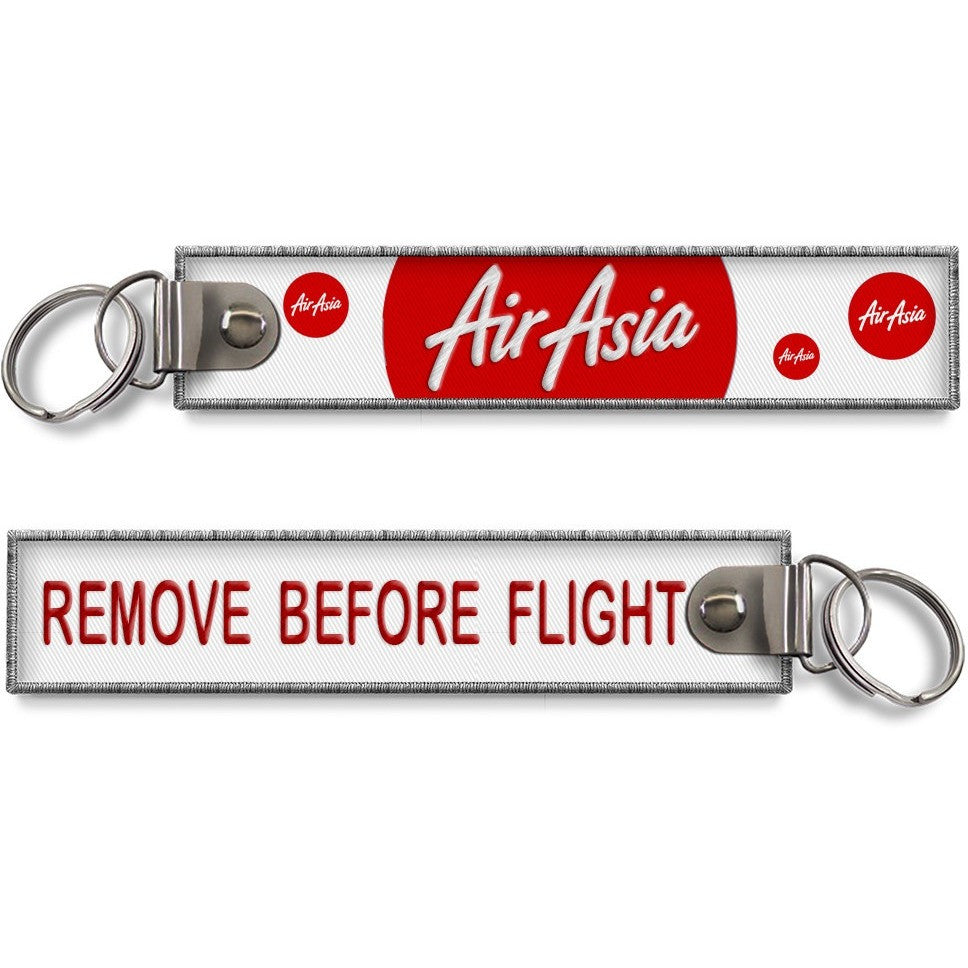 Air Asia Remove Before Flight Key Chain