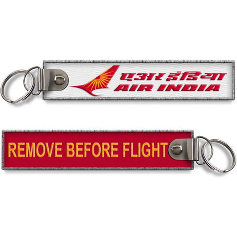 Air India-Remove Before Flight