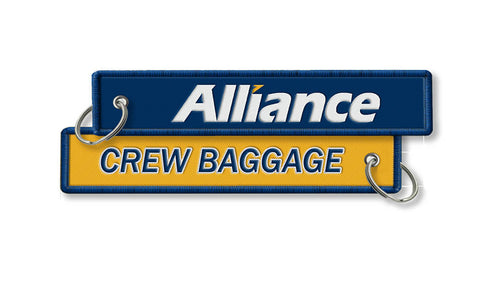 Alliance Air-Crew Baggage Keyring