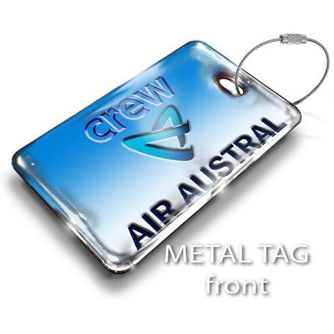 Air Austral Logo Luggage Tag