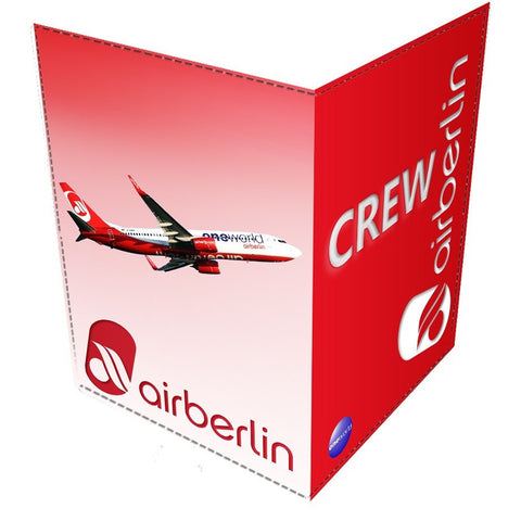 Air Berlin CREW-Passport Cover