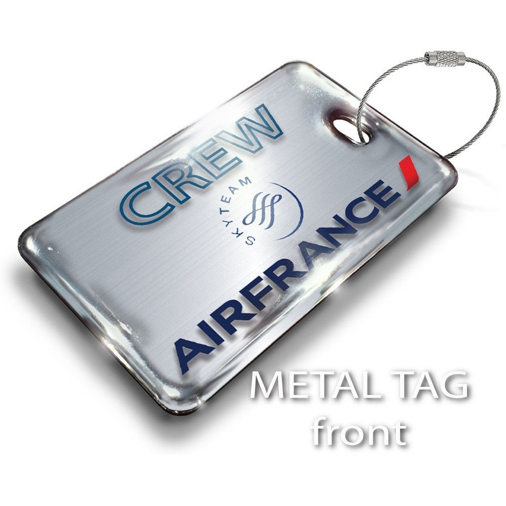 Air France Landscape-Steel Effect