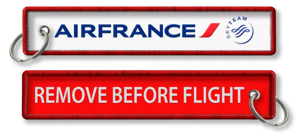 Air France - Remove before flight